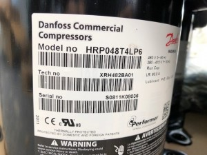 Compressor HRP048T4LP6 DANFOSS 120U1653