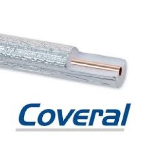 "PRE-INSULATED COPPER TUBE 3/8""- 0,8mm 50m COVERAL EBRILLE"