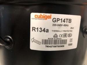 Compressor GP14TB CUBIGEL