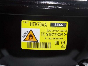 Compressor HTK70AA SECOP