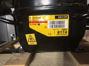 Compressor NLE11CNL SECOP