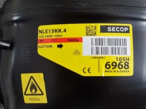 Compressor NLE15KK.4 105H6968 SECOP