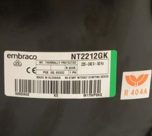 Compressor NT2212GK EMBRACO