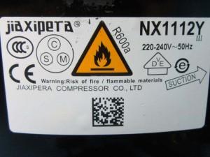 Compressor NX1112Y JIAXIPERA