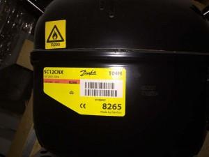 Compressor SC12CNX 104H8265 DANFOSS SECOP