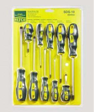 Screw driver set SDS-10 4685942 REFCO