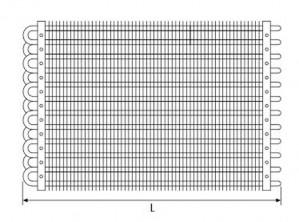 Static evaporator REC 230100 RIVACOLD