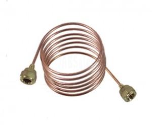 Capillary tube with nut TCK-1000-V 9881116 REFCO