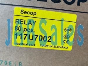 Starting relay 117U7002 SECOP DANFOSS