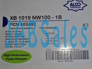 THERMOSTATIC ELEMENT XB 1019 NW 100-1B ALCO 803482