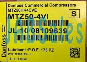 Compressor MTZ50-4VI MANEUROP DANFOSS