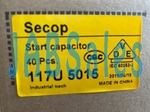 Starting capacitor 117U5015 SECOP DANFOSS