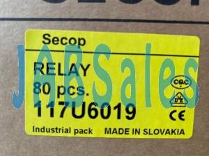 Starting relay 117U6019 SECOP DANFOSS