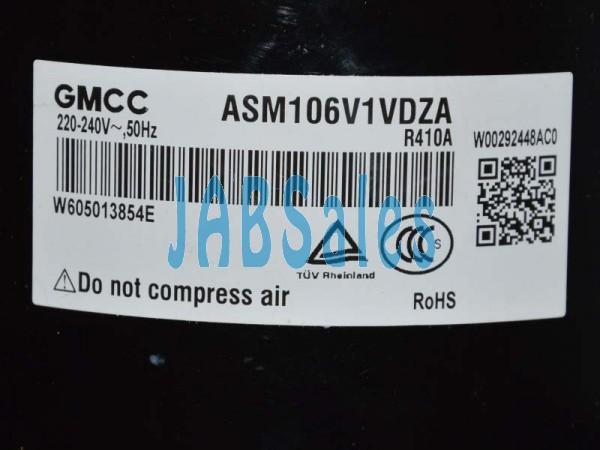 COMPRESSOR ASM106V1VDZA GMCC
