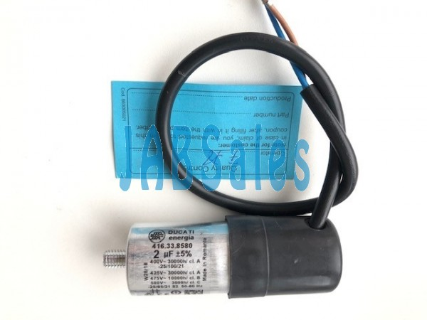 Run capacitor 475V 2MF+-5 DUCATI 30*85