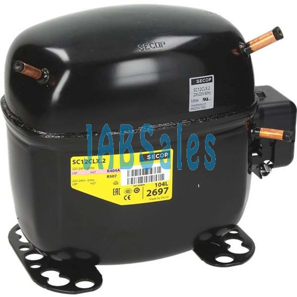Compressor SC12CLX.2  104L2697 SECOP