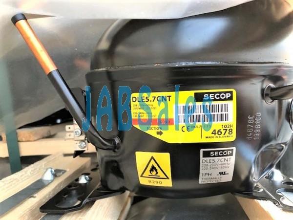 Compressor DLE5.7CNT 102H4678 SECOP 102H4666 SECOP