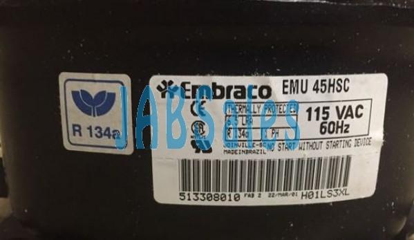 Compressor EMU45HSC EMBEACO