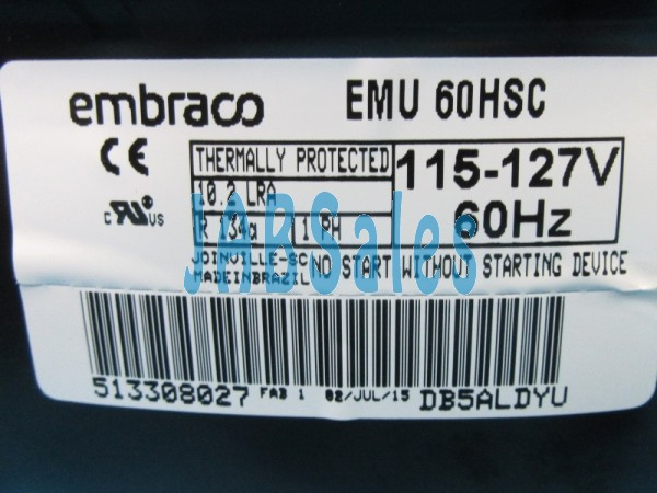 Compressor EMU60HSC EMBRACO