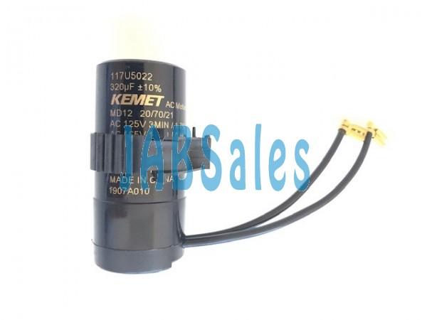 Starting capacitor 117U5022 SECOP DANFOSS