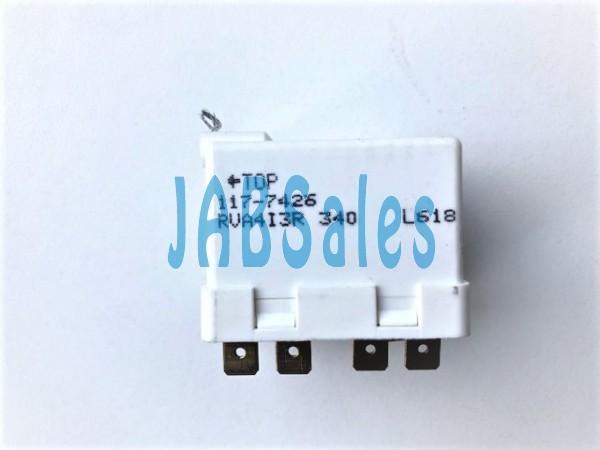 Starting relay 117-7426 SECOP DANFOSS