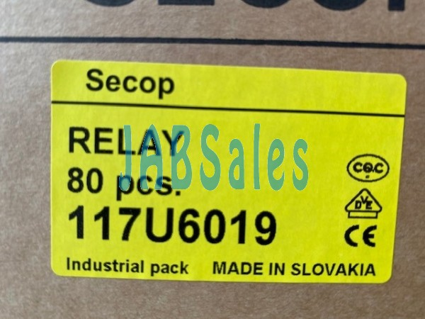 Starting relay 117U6019 SECOP DANFOSS