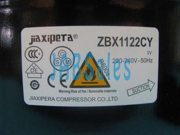 Compressor ZBX1122CY JIAXIPERA